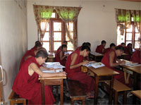 monks learning